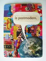Postmodern Collage ACEO by Ookiee