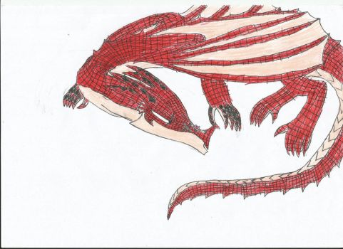Litlle Natsu And Igneel by smaugthegolden123