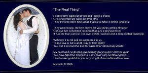 The Real Thing by VisualPoetress