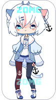 Open | Sailor Kitteh Adopt | Set Price by zomgO3O