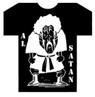 t-shirt al satan by ripperandriy
