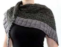 Gray on Gray by DarkHareKnits