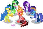 Marshmallow Campfire Time!! by MeganLovesAngryBirds