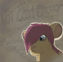 Not good enough VENT by ZombieKitties