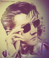 Alex Turner again by TimelordLoki