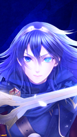 Fire Emblem - Lucina iPhone Wallpaper (v.2) by Latios77