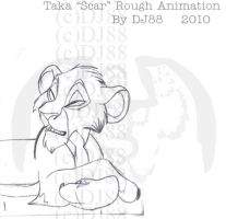 Taka Rough Pencil Animation by DJ88