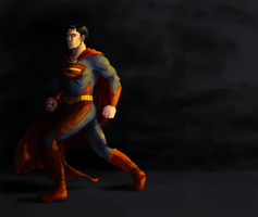 Superman Redesign Colours by Atarial