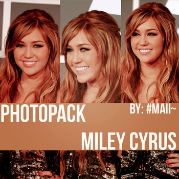 +Miley Cyrus photopack 003. by ButPleaseRemember