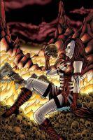 Cassandra In Hell by plbcomics
