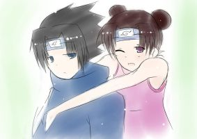 sasuke4tenten request by ftv97