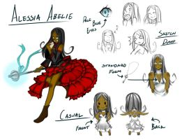 Alessia Abelie: Character Profile by segamainia