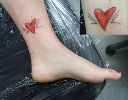 Ankle Heart by PainlessJames
