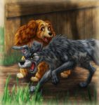 Lady and the Tramp by SheltieWolf