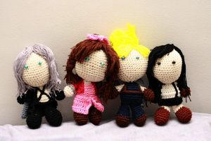 Final Fantasy 7 / AC Dolls by Nissie