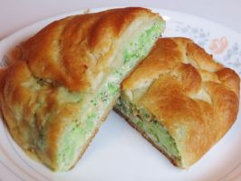 Chicken and Broccoli Crescent Pockets by Kitteh-Pawz