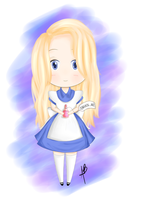 Alice Chibi by anabloom20