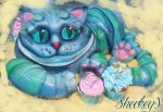 Cheshire Cat Cake by 6eki