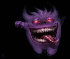 Gengar by Snook-8