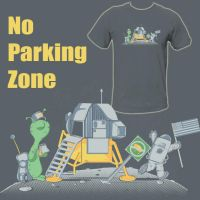 No Parking Zone by Polysoup
