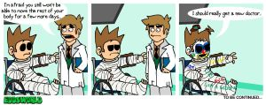 EWcomics No 78 - Accident Pt.4 by eddsworld