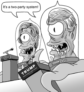 It's a two-party system! by Shabazik