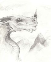 Dragon head... by Redcorp
