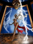 Storm, African Goddess by Theamat