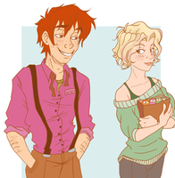George x Verity Giftart by Weasley-Detectives