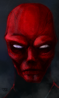 Red Skull by BalamTzibtah