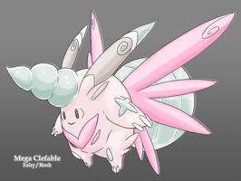 Mega Clefable by Midnitez-REMIX