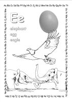 alphabet coloring pages Ee2 copy by jbeverlygreene