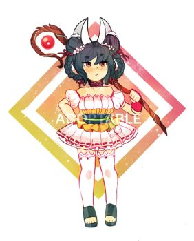 Bunny Adoptable [OPEN] by Cakelets