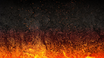 Background Fire theme by LockeLiefather