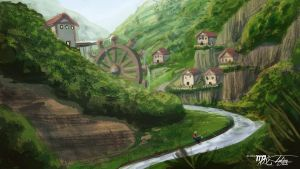 Valley Town Speed paint by Ito-Saith-Webb