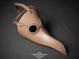 Plague doctor mask Albino by LahmatTea