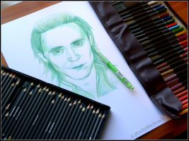 Loki Sketch. by EmilyHitchcock