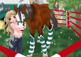 Bucky at the Fair-harpg-rescue by AppleHunter