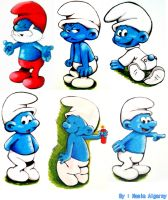 The Smurfs by Asjad-chan