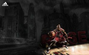 Derrick Rose by adomas by loadinHQ