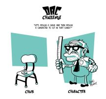 Teacher's Chair by PacoAfroMonkey