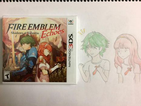 I got Fire Emblem Echoes! :D by SuperMLbros