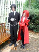 Seb and Grell 'Blah blah blah' by Hirako-f-w