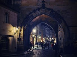 Night Prague - Czech Republic III by SvitakovaEva