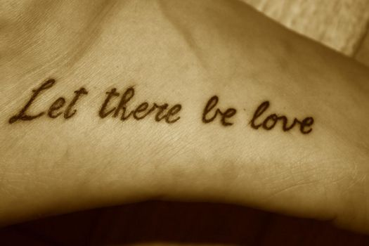 Let There Be Love by ricominciare