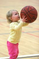 Shooting Baskets -- 2 by juliekswenson