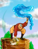 avatar  legend of aang color by shugo-89