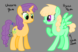 Two MLP pointables by Whitelupine