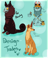 Design Trades by Densetsugin