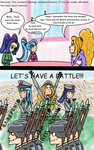 The Dazzlings: the table was not always empty. by Jurgenzuo